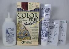 COLORERBE IPOCOLOR Tinta TINTURA capelli in crema 60ml  15 BIONDO SCURO RAMATO