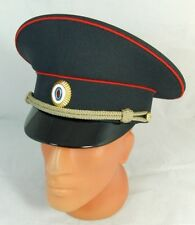 Russian Police Officer Visor Hat Cap Badge - 60cm XL - New Uniform Top Quality