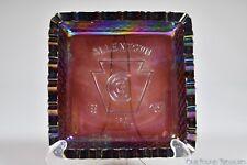 1975 Keystone Carnival Glass Club AMETHYST IRID.  Ashtray by LE Smith Glass