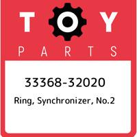 33368-32020 Toyota Ring, synchronizer, no.2 3336832020, New Genuine OEM Part