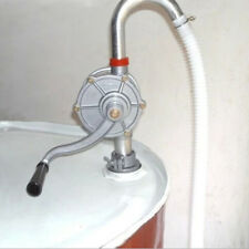 50'' Self Priming Rotary Hand Oil Pump Fuel Barrel Drum Syphon Transfer Tool
