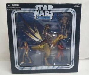 Star Wars Trilogy Collection NABOO FINAL COMBAT Figure Multi-pack 2004 kaadu