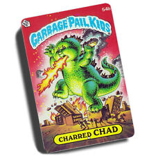Garbage Pail Kids Charred Chad 54B Reproduction 8x12 Inch Aluminum Sign