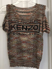 Kenzo Boanicals Los Angeles Short Sleeve Sweater