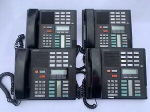 (4) Nortel Norstar Meridian M7310 Display System Phone