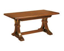 Table rectangulaire à rallonge, table à manger, bois massif de hêtre