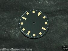 Sterile Snowflake Snow Flake Watch Dial for  ETA 2824 2836 Vintage Yellow Lume