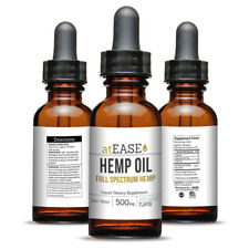 Full Spectrum Pure Hemp Oil 500mg - Anxiety Relief Arthritis Inflammation Joint