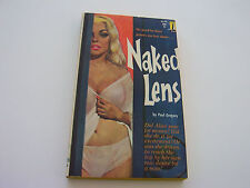 NAKED LENS  1961  PAUL GREGORY   BREATHTAKING BUSTY HEADLIGHTS COVER   FINE-