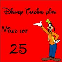 .Disney Trade Pins mixed lot of 25 pins