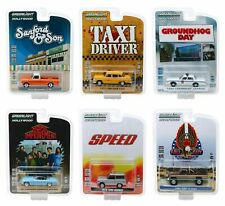 HOLLYWOOD SERIES 26 SET OF 6 PIECES 1/64 DIECAST MODEL CARS BY GREENLIGHT 44860