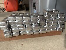 20lbs hand poured aluminum ingots
