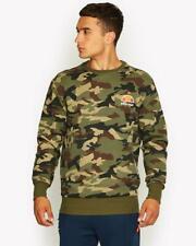 Ellesse Mens Sweatshirt Jumper Camo Logo Green Medium Diveria New