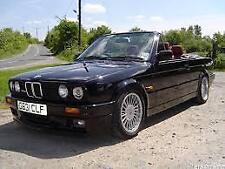 BMW E30 1982-1990 Sedan Coupe Convertible Boot Lip Spoiler Unpainted