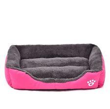 Pet Dog Cat Soft Warm Bed Mattress Washable Large Deluxe Fleece Mat S M L XL XXL