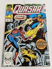 Quasar #7 February 1990 Marvel Comics
