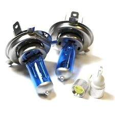 Fits Nissan Silvia S12 55w ICE Blue Xenon HID High/Low/Slux LED Side Light Bulbs