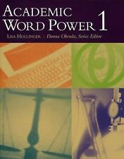 Academic Word Power 1 by Lisa Hollinger (2003, Paperback)