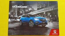 Vauxhall Grandland X SE Sport Elite brochure catalogue December 2017 MINT Opel