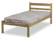 New Design Pine 3ft Single Bed Wooden Frame  Natural Color -MB1