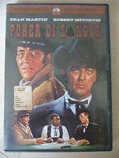 """DVD """"POKER DI SANGUE"""" DEAN MARTIN 1968 western"""