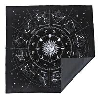 Divination Tarot Table Card Cloth Constellation Velvet Tapestry 19.29in