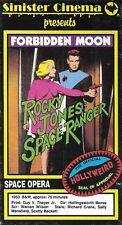 Sinister Cinema - FORBIDDEN MOON (VHS) RARE! Rochy Jones Space Ranger!