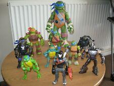 Teenage Ninja Mutant Turtle Figures Bundle  10 figures