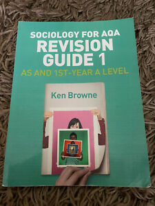Sociology For Aqa Revision Guide One A-level
