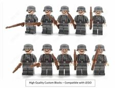 WW2 10 Minifigure - Custom Lego WWII Soldiers Troops German