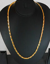 22k Carat gold plated chain elegant necklace sets fashion JEWELRY u1 c