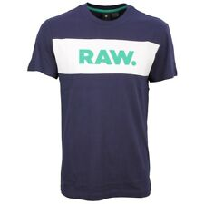 G-Star Raw Herren T- Shirt Bella blau D09271 336 6067