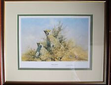"David Shepherd signed Limited Edition Print ""African Cheetah"""