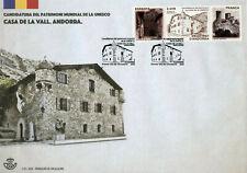 More details for spanish andorra unesco stamps 2020 fdc casa de la vall world heritage 1v set