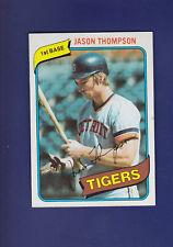 Jason Thompson 1980 TOPPS Baseball #150 (NM) Detroit Tigers