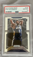 2019-20 Panini Prizm Zion Williamson RC Rookie #248 PSA 10 GEM MINT PELICANS🔥🔥