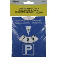 Disque de Stationnement Parking Disc Européen Zone Bleue 10 x 12 cm