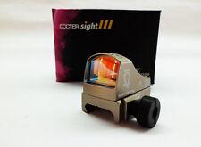 Tactical Mini Red Dot Docter Style Auto Brightness Dot Reflex Sight III