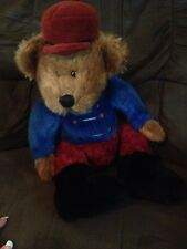 "Russ Berrie Bandy Soldier Nutcracker Teddy Bear 18"" Plush Teddy Bear Adult Owned"