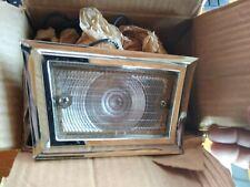 NOS FOMOCO 1958 FORD FAIRLANE 500 TRAPEZOIDAL BACKUP LAMP KIT B8A-18275-C