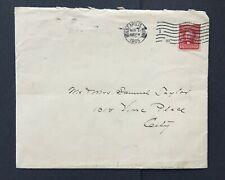 mystamps  US 319g single, 2 cent Washington, 1905, on cover