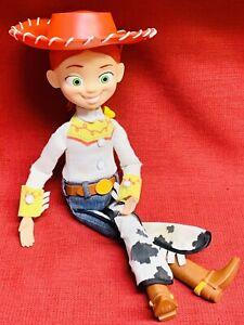 "Disney Pixar Jessie Cowgirl Toy Story Pull String Talking 15"" Doll Thinkway Toys"