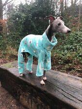 """dog pyjamas jumper Italian greyhound fleece all  in one fleece 13-15""""llama"""