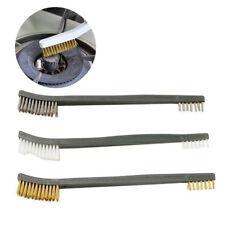3pcs Mini Nylon Metal Rust Cleaning Steel Brass Wire Brush Polishing