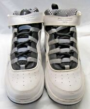 NIKE 414673-101 AJF 10 (PS) White upper Gray Black Sole Sneakers Size 1.5Y