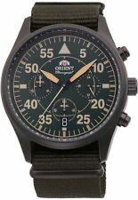 Men's Orient Pilot Style Chronograph Watch RA-KV0501E10B