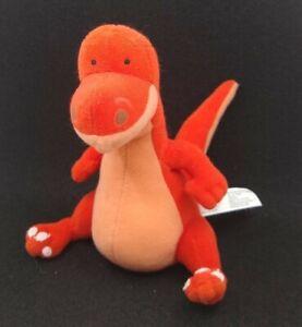 Harry and his Bucket Full of Dinosaurs T-Rex Plush Taury Orange 2005 Mattel