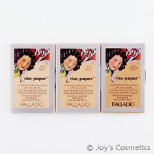 "1 PALLADIO Rice Paper Blotting Tissues ""Pick Your 1 Color"" *Joy's cosmetics*"