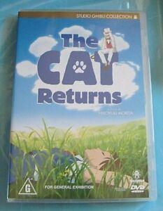 THE CAT RETURNS DVD  Anime Region 4