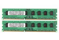 4GB 2X 2GB PC3-10600 DDR3 1333MHz 240pin UDIMM Desktop Memory PC10600 For Intel